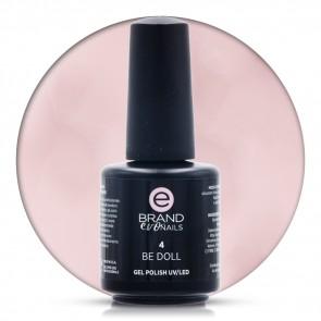 Smalto Semipermanente Rosa Be Doll nr. 4, 15 ml, Evo Nails