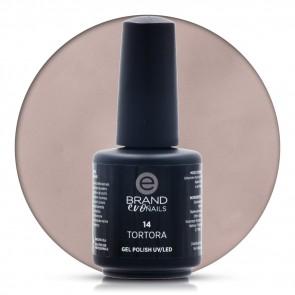 Smalto Semipermanente Tortora, Nr. 14, 15 ml, Evo Nails