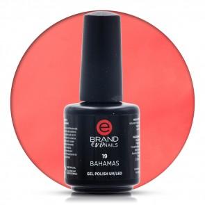 Smalto Semipermanente Rosso Scarlatto, Bahamas Nr. 19, 15 ml, Evo Nails