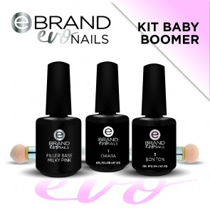 Kit Smalti Semipermanenti Baby Boomer, Evo Nails