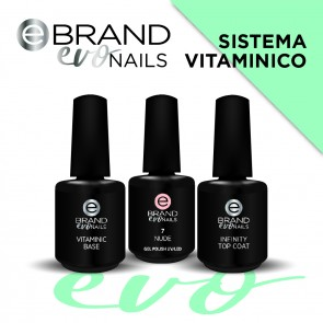 Kit Smalti Semipermanenti Sistema Vitaminico, Evo Nails