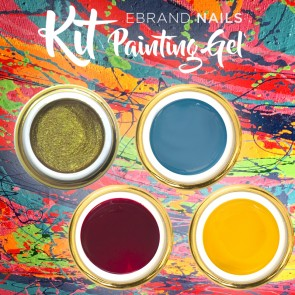 Kit Convenienza 4 Painting Gel