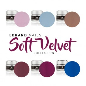"Collezione Inverno 2017/2018 Gel Color Uv ""Soft Velvet""- Ebrand Nails (Smalti Attributes)"