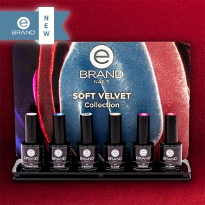 "Collezione Inverno 2017/2018 Smalti Semipermanenti ""Soft Velvet""- Ebrand Nails"