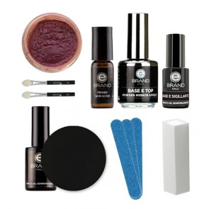 Kit Unghie Effetto Specchio - Mirror Powder Camaleontic - Ebrand Nails