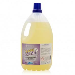 Detergente Igenizzante per Tessuti Profumato Concentrato Sani-Wash - Ebrand Pro Hygiene - Lt. 4