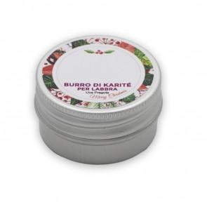 Burro di Karitè Per Labbra Uva e Fragola, 15 ml