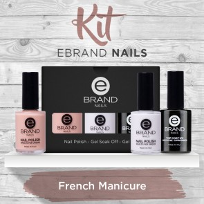 Kit French Manicure - Ebrand Nails