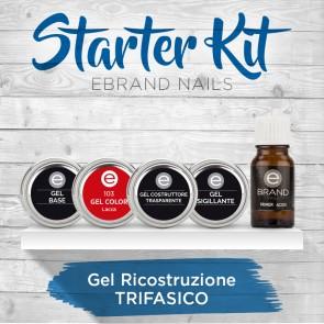 Starter Kit Gel Trifasico Ebrand Nails