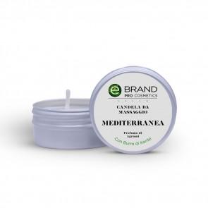 """Candela da Massaggio """"Mediterranea"""", Ebrand Cosmetics, 80 gr"""