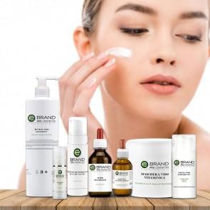 Protocollo trattamento viso esfoliante schiarente, acido mandelico