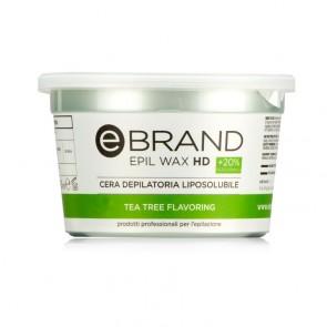 Cera Depilatoria HD - Titanio Tea Tree - 350 ml