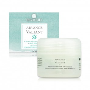 Crema Viso Idratante Volumizzante - Ebrand Advance Valiant - Vaso 50 ml