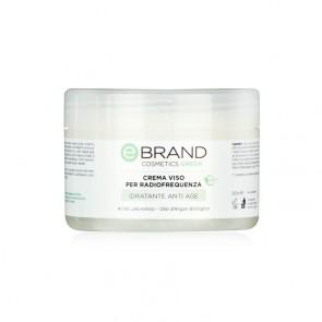 Crema Viso Radiofrequanza Acido Jaluronico e Olio d'Argan - Ebrand Green - Vaso 250 ml