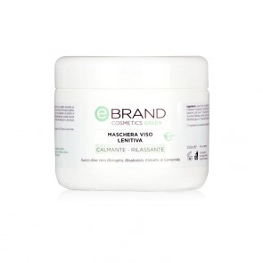 Maschera Viso Lenitiva - Ebrand Green - Vaso 250 ml