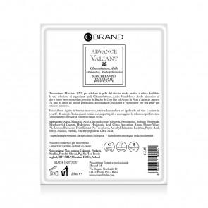 Maschera Monouso Imbibita Esfoliante Purificante - Ebrand Advance Valiant