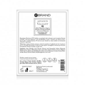 Maschera Monouso Imbibita Schiarente - Ebrand Advance Valiant - Conf. 10pz