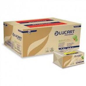 Asciugamani Carta Monouso Per Dispenser - Piegati a Z - Microgoffrato - Econatural - N. 18 Conf. da 220 pz