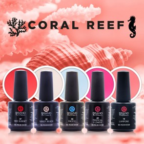 Collezione Smalti Semipermanenti Coral Reef by Evo Nails