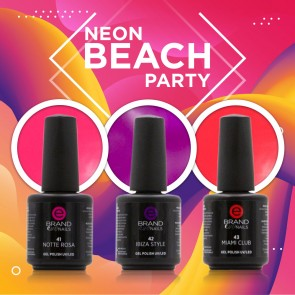 Collezione Smalti Semipermanenti Neon Beach Party by Evo Nails