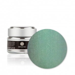 Gel unghie Verde Argentato n. 195 - Green Tea - Ebrand Nails - ml. 5