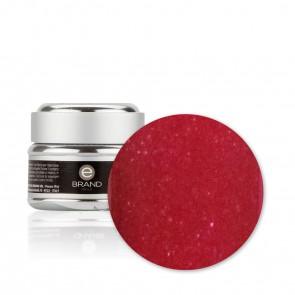 Gel unghie rosso scuro glitter n. 75 - Matilde - Ebrand Nails - ml. 5