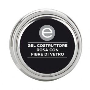 Gel Monofasico Rosa con Fibre di Vetro ml. 30 - Ebrand Nails