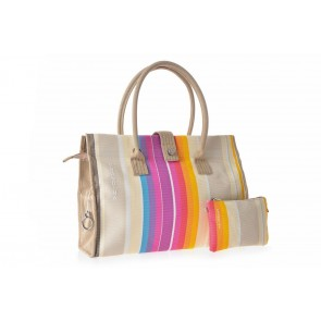 Borsa Donna Hotel Plus Safò Beige - Brandina The Original