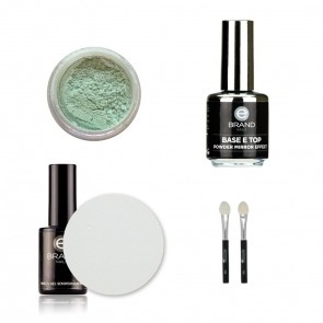 Kit Unghie Effetto Specchio - Mirror Powder Multieffect  - Ebrand Nails