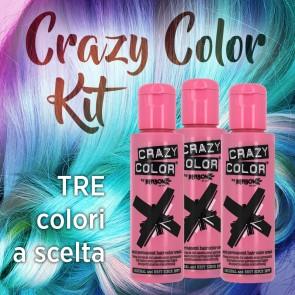 Confezione Risparmio Tinte Semipermanenti Crazy Color