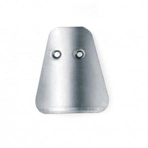 Lame Sgorbie Professionali Monouso Inox - Misura 2 - Blister 50 Pz.