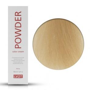 Crema Colorante Permanente 10 Biondo Chiarissimo Platino 100 ml - Powder LVDT
