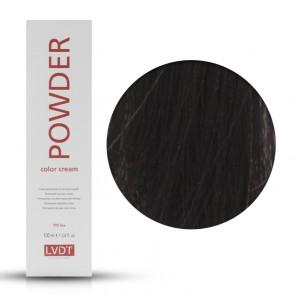 Crema Colorante Permanente 3 Castano Scuro 100 ml - Powder LVDT