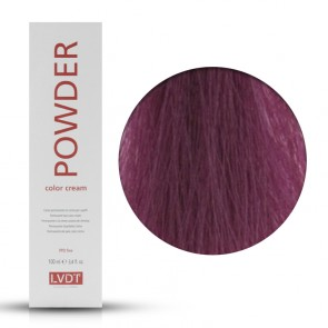 Crema Colorante Permanente 6.75 Rosso Viola Intenso 100 ml - Powder LVDT