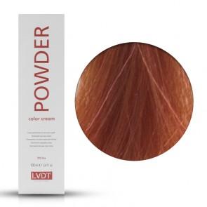 Crema Colorante Permanente 7.44 Biondo Rame Intenso 100 ml - Powder LVDT