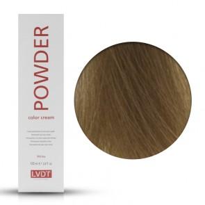 Crema Colorante Permanente 8.0 Biondo Chiaro Luminoso 100 ml - Powder LVDT
