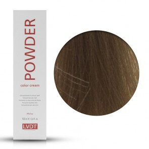 Crema Colorante Permanente 8 Biondo Chiaro 100 ml - Powder LVDT