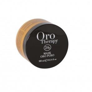 Maschera Illuminante Tutti i Tipi Di Capelli - 300 ml - Oro - Oro Therapy