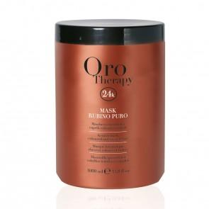 Maschera Cheratina Capelli Colorati - 1000 ml - Rubino - Oro Therapy