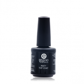 Matt Top Coat, 15 ml, Evo Nails