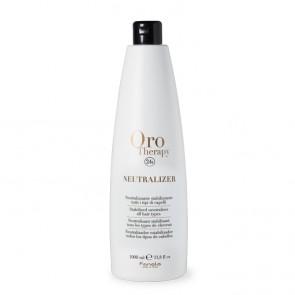 Neutralizer Tutti Tipi Di Capelli 1000 ml, Oro Therapy