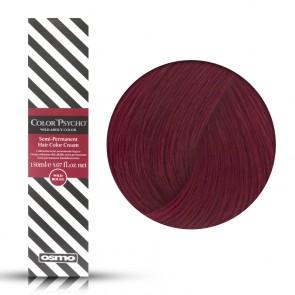 Osmo Color Psycho Wild Claret, Colorazione Semi Permanente In Crema Rosso Violaceo, 150 ml