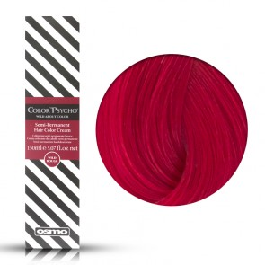 Osmo Color Psycho Wild Rouge, Colorazione Semi Permanente In Crema Rosso, 150 ml