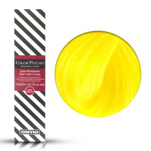 Osmo Color Psycho Wild Yellow, Colorazione Semi Permanente In Crema Giallo, 150 ml