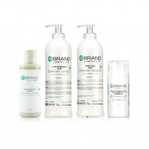 Protocollo Trattamento Detersione Idratante/Lenitiva - Ebrand Green