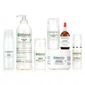 Protocollo Trattamento Viso Schiarente/Illuminante, Ebrand Pro Cosmetics