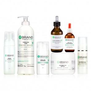 Protocollo Viso Esfoliante/Schiarente - Acido Mandelico - Ebrand Green