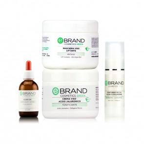 Protocollo Trattamento Antiage - Acido Jaluronico - Azione volumizzante/idratante - Ebrand Green