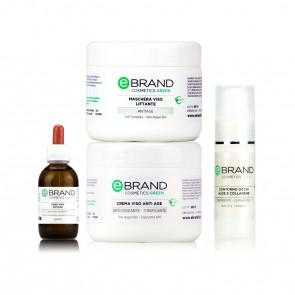 Protocollo Trattamento Antiage - Coenzima Q10 - Azione Antiossidante - Ebrand Green