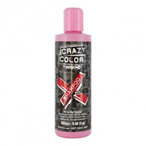 Vibrant Color Shampoo Red - 250 ml - Crazy Color